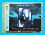 Barry White -  Practice whta you preach [ singiel]