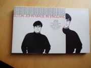 Elton John Made in England limited Edition   2 Single