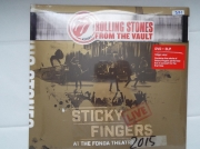 The Rolling Stones Sticky Fingers 2015 3LP DVD