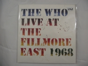 The Who Live at the follmore East 1968 3LP