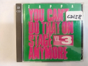Frank Zappa: You Can\'t Do That On Stage Anymore. Vol.3 [2CD]
